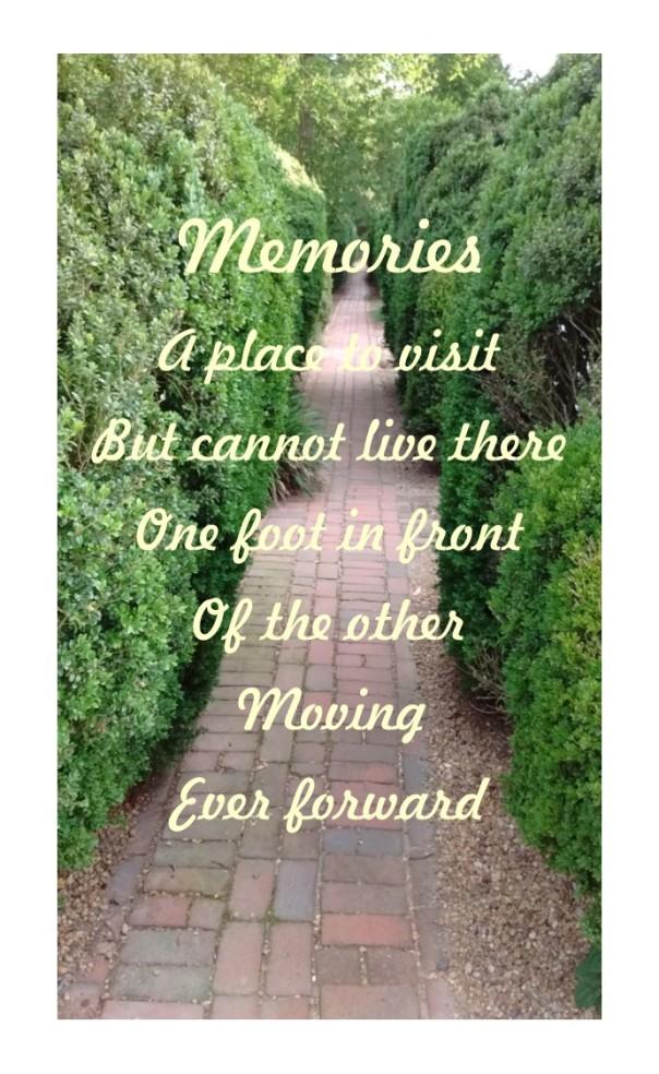 Moving ever forward